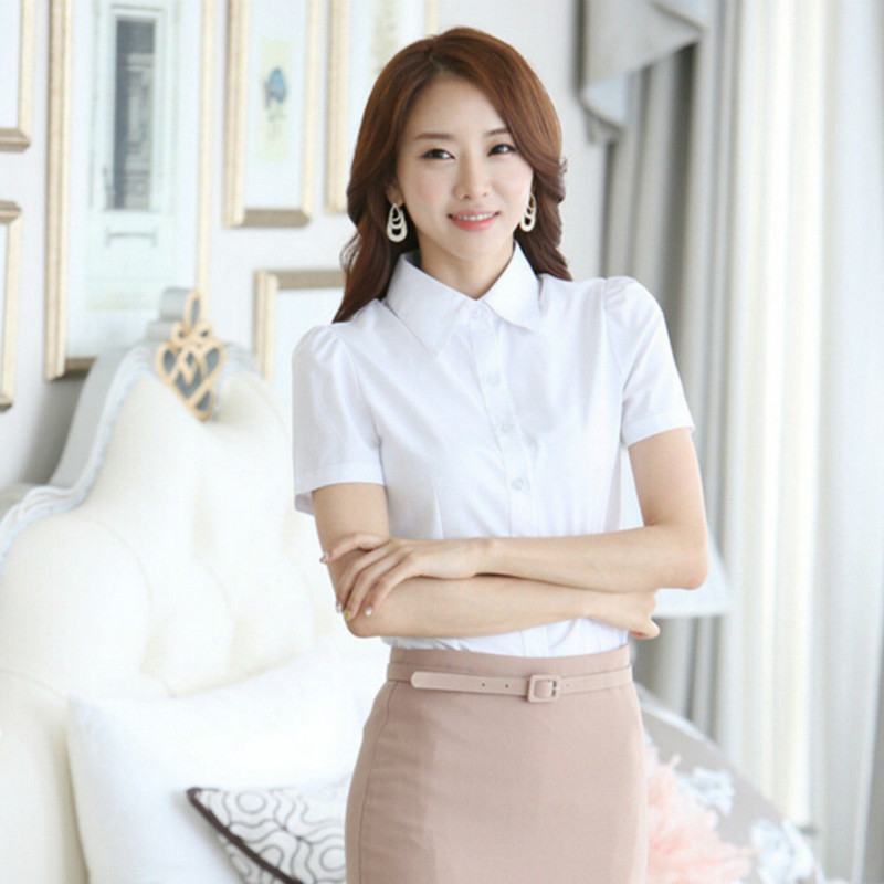 Compare Prices on Ladies Business Shirts White- Online Shopping ...