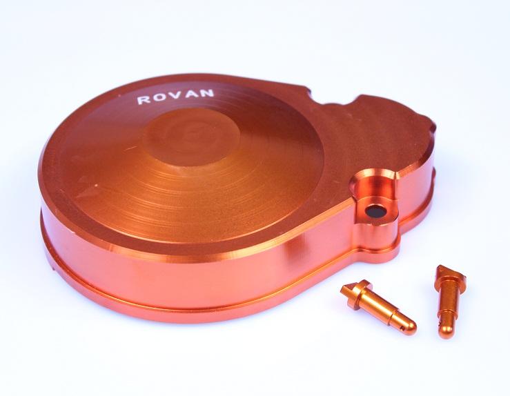 Фотография CNC metal gear cover for1/5 HPI baja 5b KM ROVAN