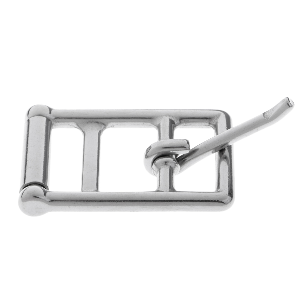 Bridle Halter Saddle Buckle Clip Replacement for Horse Riding Stainless Steel