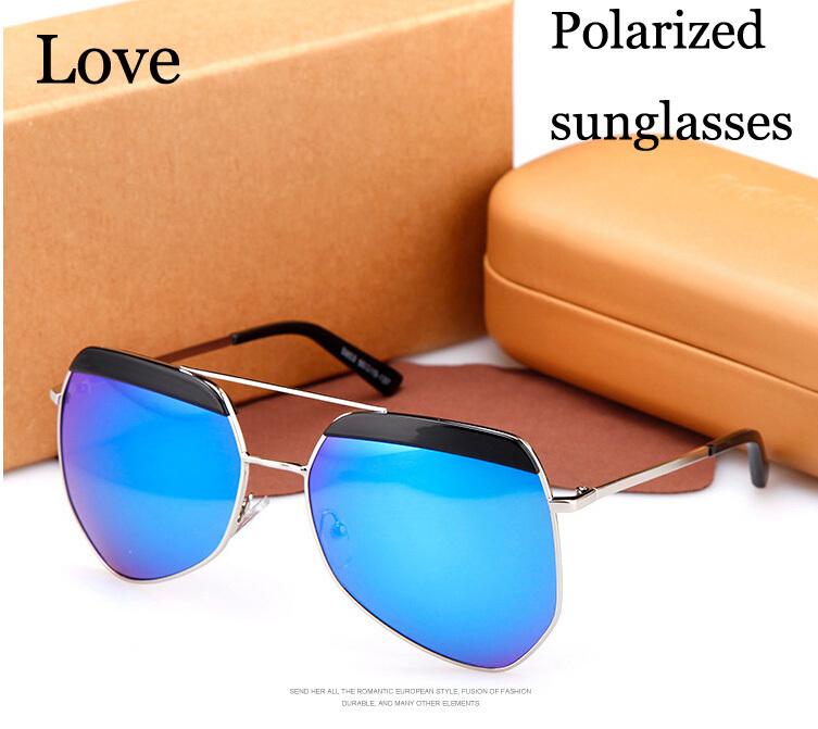 Oculos Big Frame Standards to Protect Eyesight Glasses Men Lens Brand Designe Vintage Women Sunglasses Polarized Aviator UV400(China (Mainland))