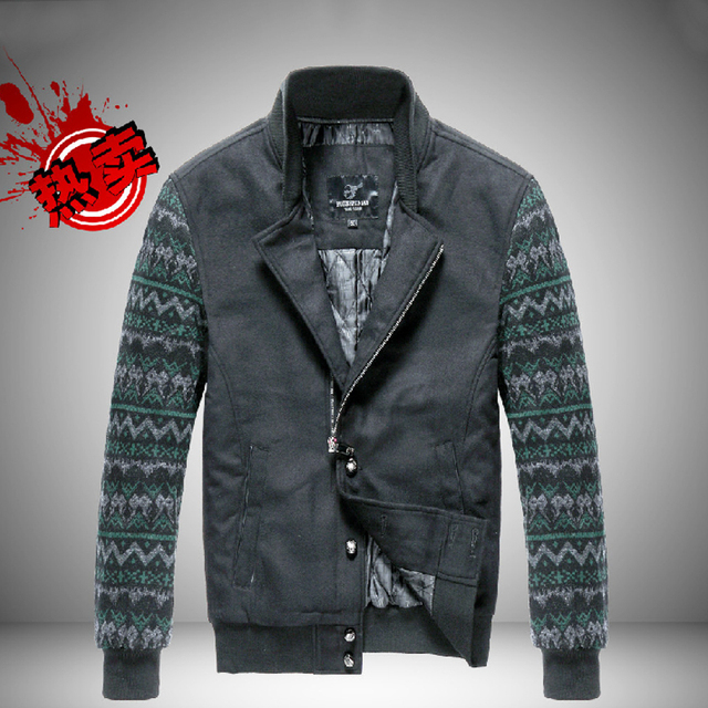 Mens clothes 2013 cotton jacket man casual coat slim mens men british style men's jackets J002