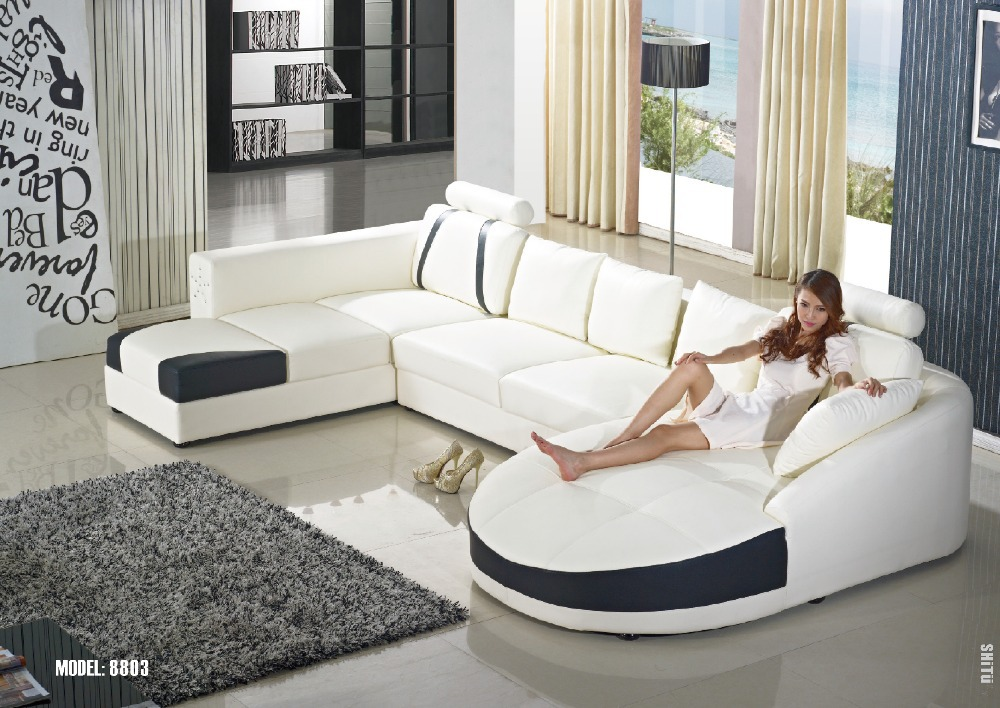 Buy small corner sofa for living room - Sofas piel moderno ...
