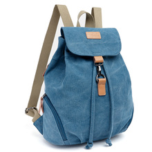 Hot Canvas Backpack For School Student Girls Stylish Fashion Women Vintage Satchel Rucksack Arcuate Shoulder Strap Backpack(China (Mainland))