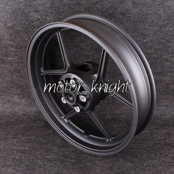 Black Motorcycle Front Wheel Rim For KAWASAKI ZX-10R 06-09 ZX-6R 05-12(China (Mainland))