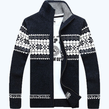 free shipping cardigans sweater men dress sping and autumn wear plus size M L XL XXL 3XL men's sweater 95(China (Mainland))