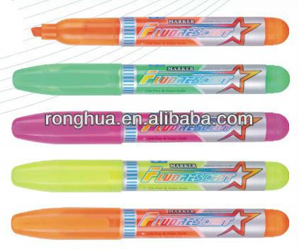 wholesale plastic Mini highlighter marker WY-2025(China (Mainland))