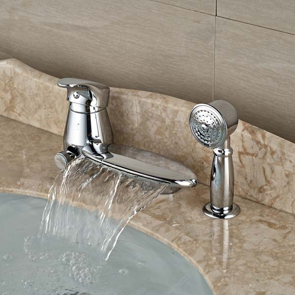 Bathroom Faucet With Pull Out Sprayer. Bathroom Faucets With Sprayer   Cleandus com