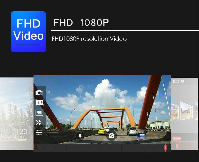 Mini WIFI Car DVR FHD1080P Camera Digital Registrar Video Recorder Dash Cam (5)