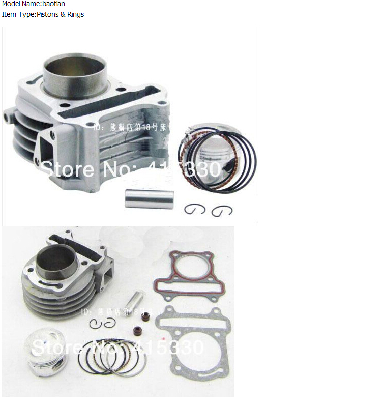 80cc bicycle engine kit 80cc 47mm Big Bore Kit Chinese Scooter 139QMA 139QMB Znen B free shipping(China (Mainland))
