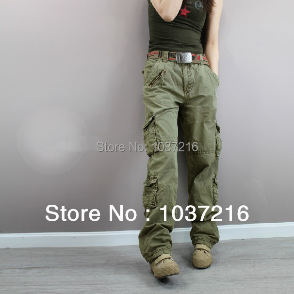 Luxury  Baggy Camouflage Cargo Trousers Combat Jeans Wide Leg Pants  EBay