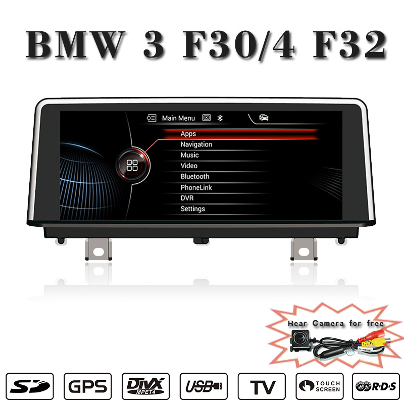 ANDROID 4.4.4 10.25 inch Reversing Track function for BMW 3 series dvd Multimedia Radio Bluetooth Phonebook USB Touch Screen(China (Mainland))
