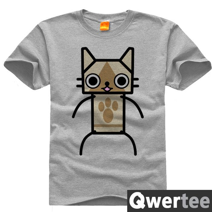 Original Design MONSTER MH KITCHEN QUEST CLEAR Print Fashion Style Casual T-shirt T shirt Free Shipping(China (Mainland))