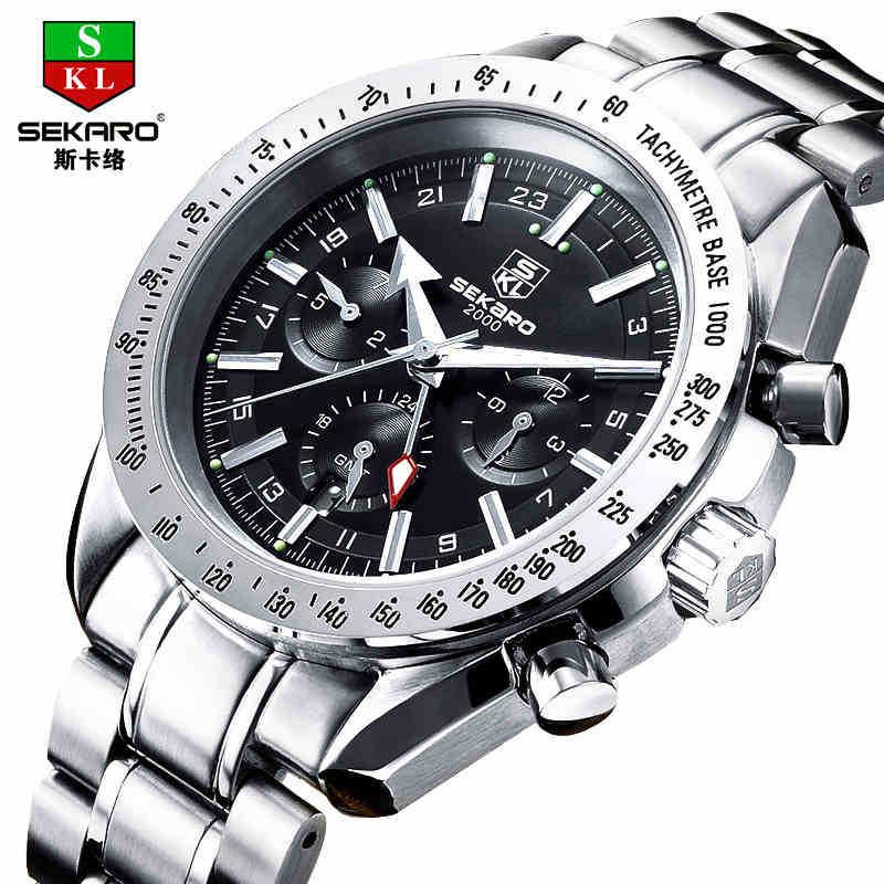 Men's automatic mechanical watches men watch waterproof movement watches man fashion watches men(China (Mainland))