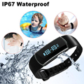 Bluetooth Smart Wrist Watch Health Bracelet Heart Rate Monitor Fitness Tracker Mens womens Smart watches digital