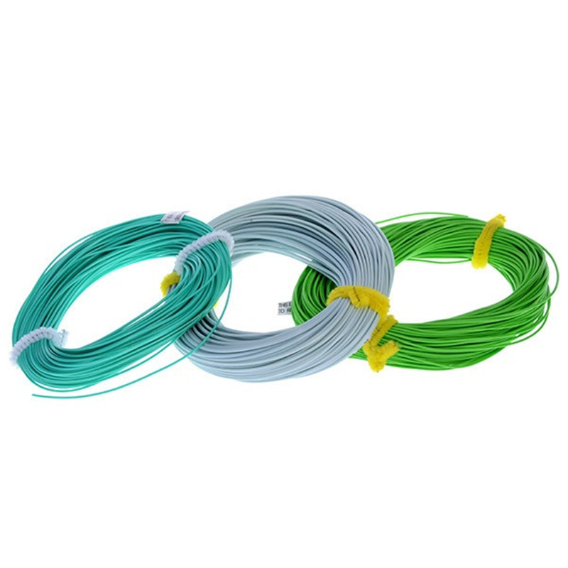 Fly Fishing Line Weight Forward Floating Fly Lin 30.5M 3# 4# 5# 6# 7# 8# 9# 10# 100FT TOP Qulity Fishing Line(China (Mainland))