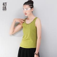 Toyouth Summer Hot Selling Shapers Body Women Cotton Shirt Women's Beading Sarafan Tank Tops Long Casual Tops Plus Size Corset(China (Mainland))