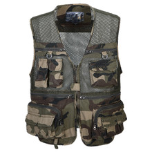 Vest For Hiking Camouflage