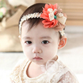 Cute Baby Girl Bling Hairband Double Big Bow Knot Shining Headband Headware Hair Band Accessories for