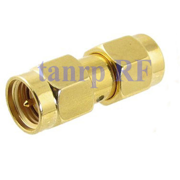 SMA male plug  to SMA male plug  straight  RF coaxial connector adapter cable<br><br>Aliexpress