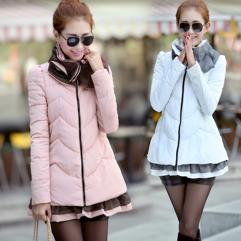 Fashion Style Women Jacket Coats 2013 New Winter Parkas Thickening Wadded Cotton Snow Wear Outdoor XXL Brand - Good faith store