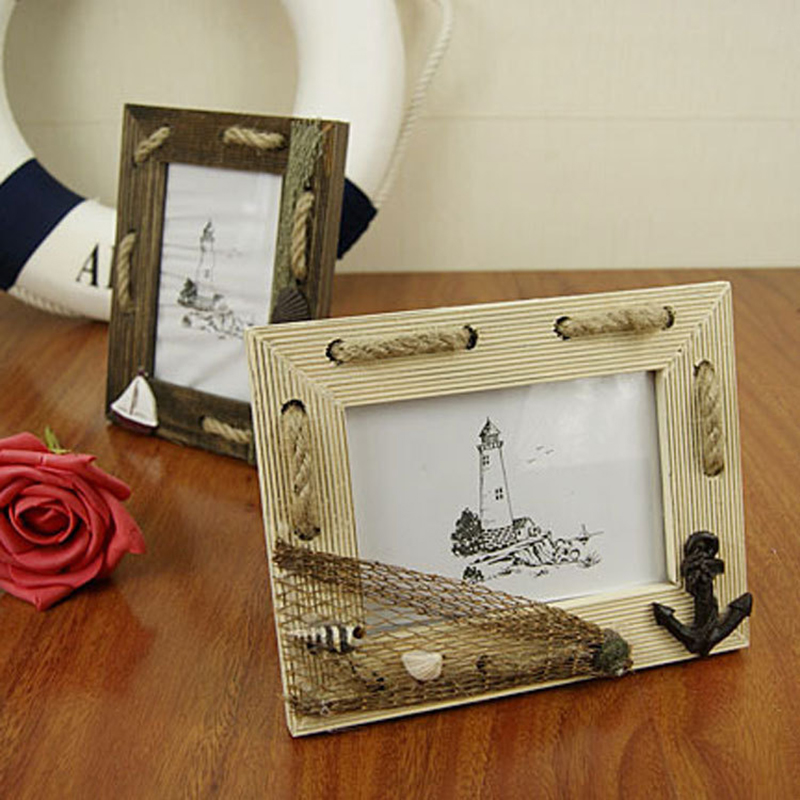 5-inch European-style retro wooden photo frame picture frame swing sets frame wood frame primary side(China (Mainland))