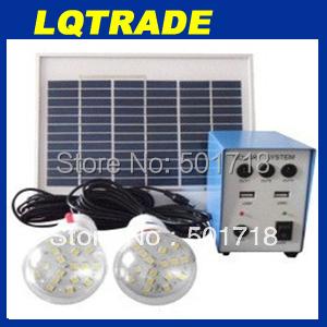 5W solar Protable Power generation system,Solar power box and Solar controller generating system