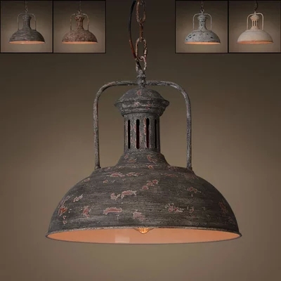 Vintage rustic lighting
