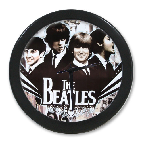 Original <font><b>Home</b></font> <font><b>Decoration</b></font> Customized The Beatles <font><b>Elegant</b></font> Wall Clock Modern Design Watch Wall Free Shipping #n24i99