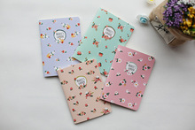 1Pc Kawaii Wood-in Kraft Paper BLANK Notebook Journal Diary Notepad Vintage Soft Copybook Daily Memos Pads Cute Stationery - Cosima`s Stationer store
