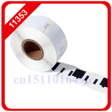 100x rolls Dymo Compatible Labels 11353 1353 Labelwriter Turbo for Seiko Slp Etiketten Multipurpose 24mm X 12mm Thermal