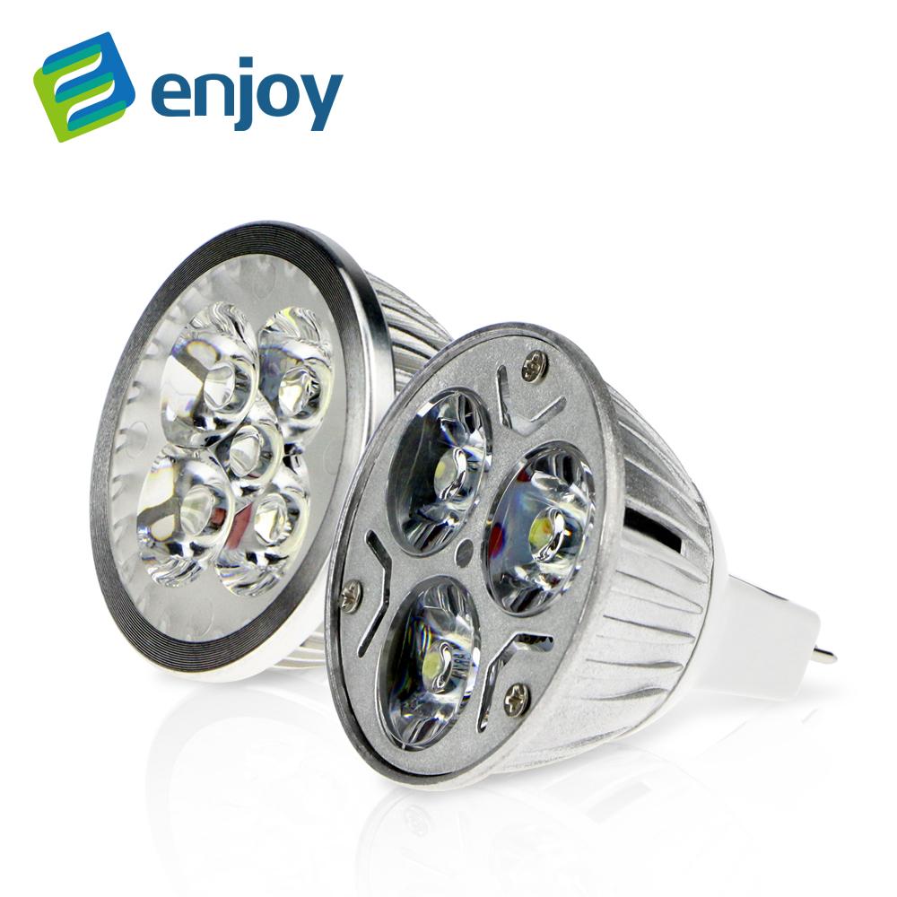 MR16 12V LED Bulb Lamp 3W 4W 5W 9W High Power LED Spotlight Bulb(China (Mainland))