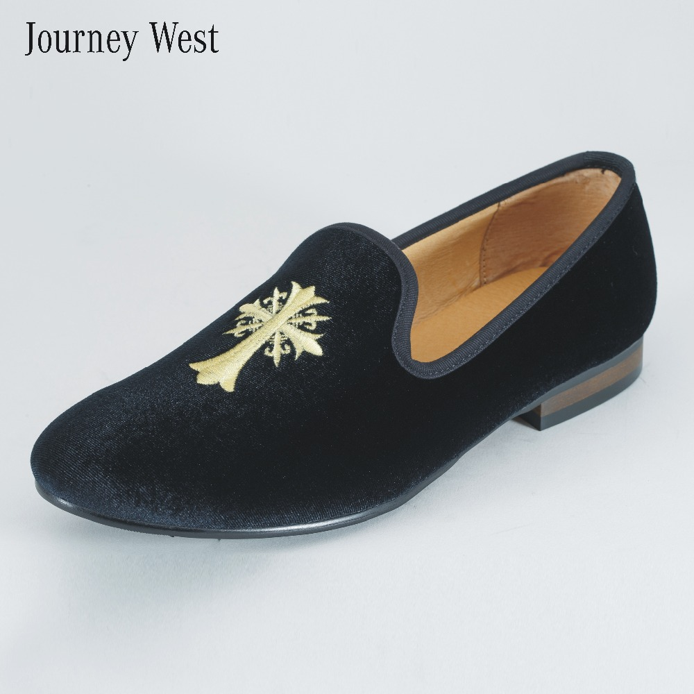 buy 2014 fashion classic loafers velvet embroidery