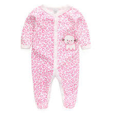 Baby Rompers 100 Cotton Panda Newborn to 9M Carters Baby Girl Boy Jumpsuits 1pc lot Long