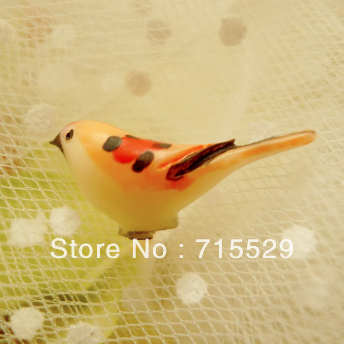 Free Shipping 26mm 4 Colors Flateback Resin Bird Cabochons Decoration Accessories Wholesale 100pcs/lot