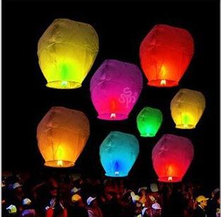 500Pcs/set Love Heart Sky Lantern Flying Wishing Lamp Hot Air Balloon Kongming Lantern Party Favors 85CM For Birthday Party(China (Mainland))