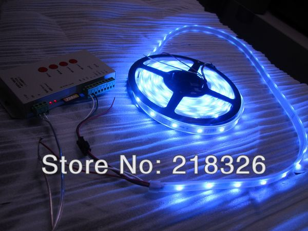 4m/Roll WS2811 SMD 5050 60LED/meter LED Digital Strip Light Built RGB Chips Non-Waterproof - QIQI Huang's store