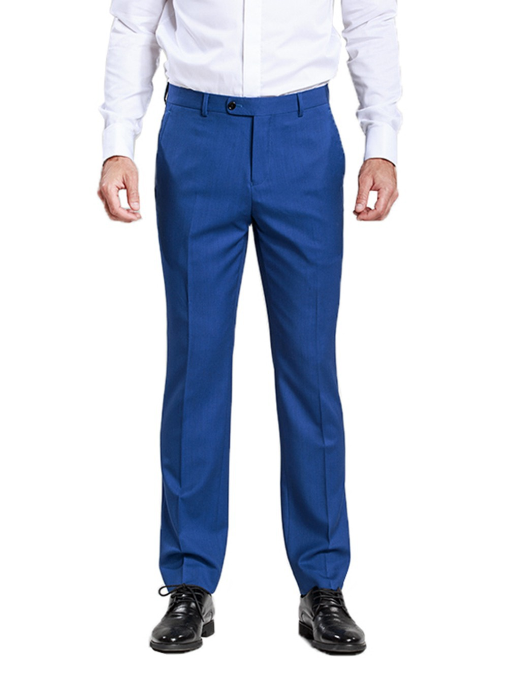 Suit Pants Pleated Or Flat