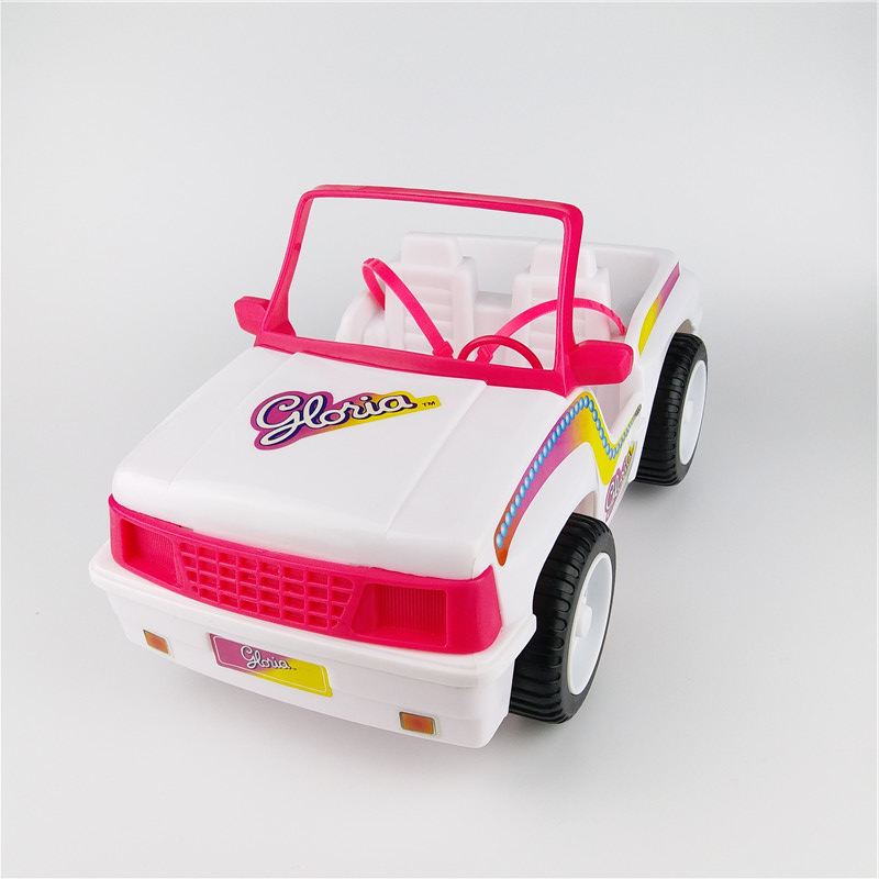 New Arrival BDCOLE 2-seat Off-road Convertible and Sports activities Automobile Toy for Barbie Doll Home Equipment Faux Play Toys for Woman
