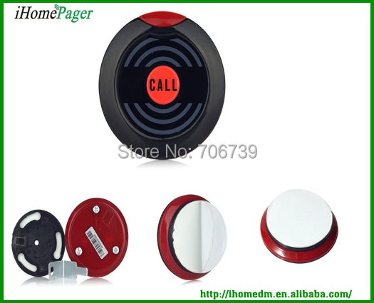 Restaurant paging system table bell 30pcs/pack