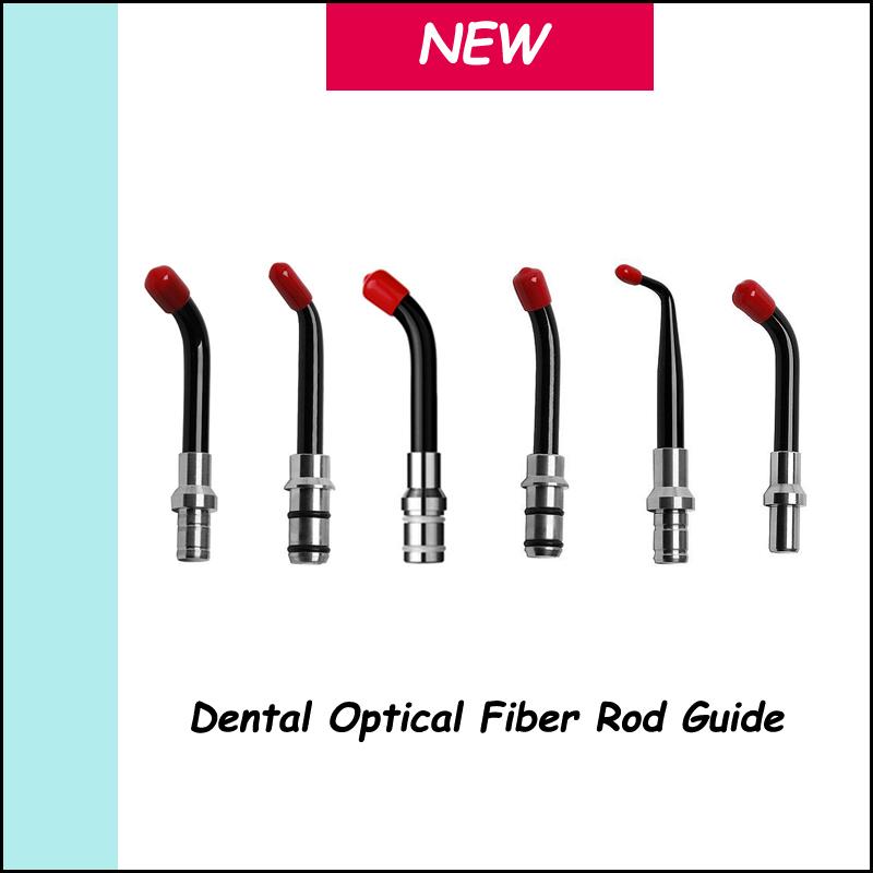 Dental Equipment Optical fiber light guide 6PCS Dental Universal Guide Tip For LED Curing Light Lamp(China (Mainland))