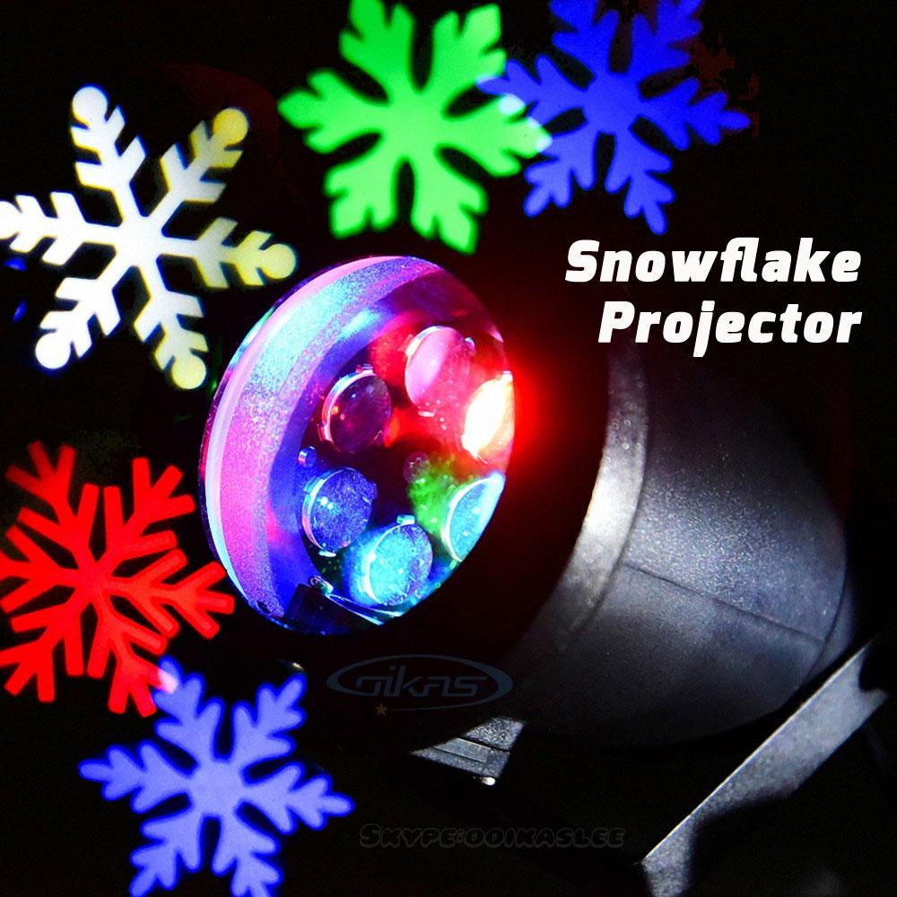 achetez en gros flocon de neige lumi re projecteur en. Black Bedroom Furniture Sets. Home Design Ideas