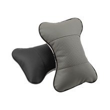 1Pcs PU Cloth Seat Head Rest Cushion Neck Headrest Pillow Pad for All Vehicles Newest