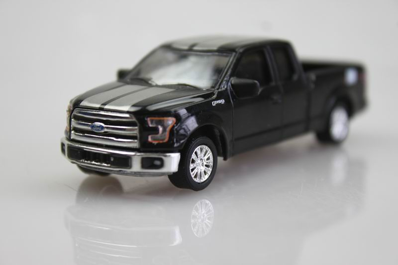 black 0354 GreenLight 1/64 2015 Ford F-150 Alloy car model Pickup truck(China (Mainland))