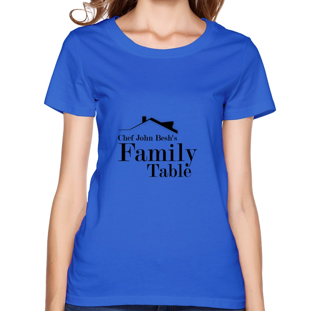 fashion clothes hip pop Chef John Besh's Family Table 100% cotton womenArt t-shirt for female(China (Mainland))