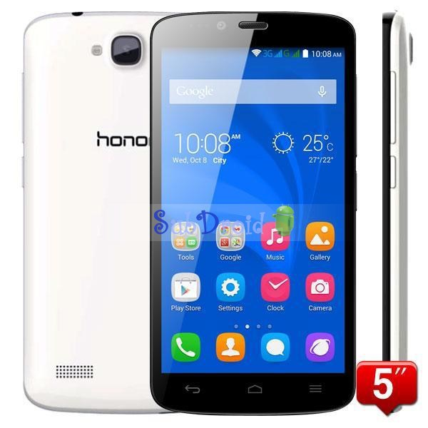 "Original spanish Huawei Honor Holly 3C PLAY 5"" IPS HD MTK6582 Quad Core Android 4.4 3G Mobile Phones 8MP 1GB RAM 16GB ROM(China (Mainland))"