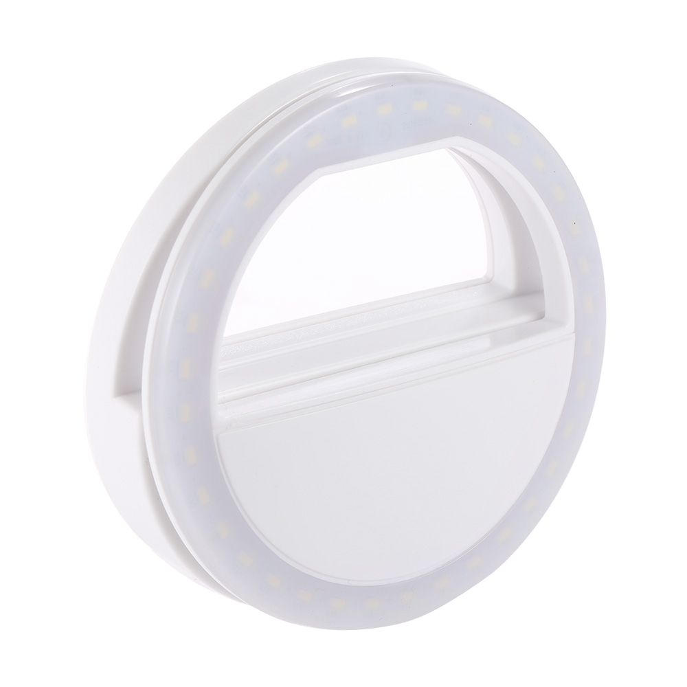 Portable Clip-on Mini 36 LED Selfie Ring Light Lamp Fill-in Light Night Supplementary Lighting for iPhone Samsung Smartphone PC(China (Mainland))