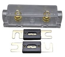 Buy APS ANL Fuse holder Distribution INLINE 0 4 8 GA GOLD PLATED 2X200A ANL FUSE for $7.86 in AliExpress store