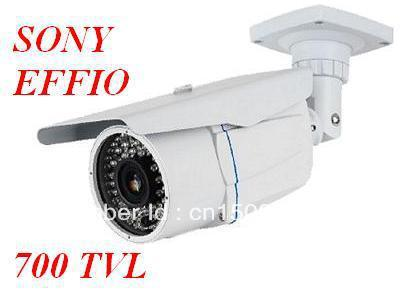 700TVL Effio Sony CCTV Varifocal lens Outdoor Dome camera 2.8-12mm lens IR Camera,+ Free shipping