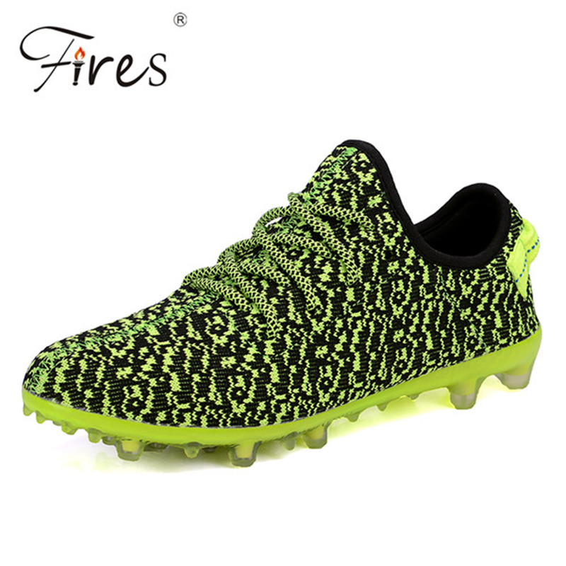 Soccer Shoes 2016 Indoor Men Training Shoes Elastic Bottom Sports Football Shoes Breathable Artificial Shoes For Man Top Quality(China (Mainland))