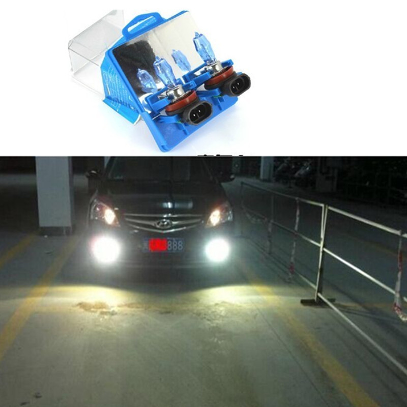 2pcs/lot H4 Xenon HID 6000K Auto Fog Light bulb 12V 100W Super White Car Light Source(China (Mainland))